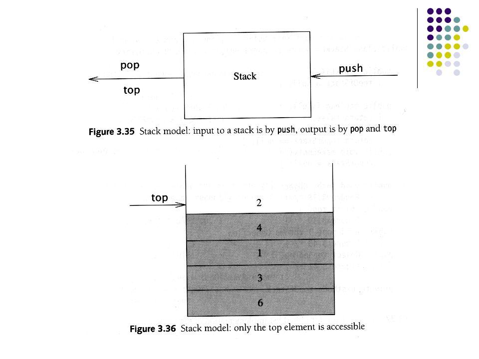 Implementering av stack Stack kan implementeres som Lenket liste Ytelse: alle operasjoner er O(1) Problem: Kostnaden ved new Array Ytelse: alle operasjoner er O(1) Problem: Blir lettere overflyt
