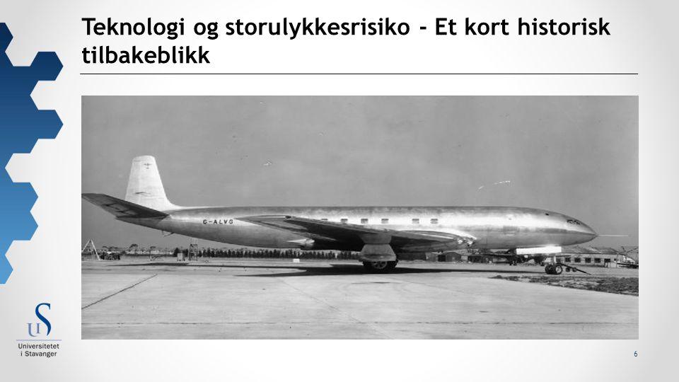 7 The Comet type I  Et stort steg fremover i luftfartsteknologi – samtidig en stor katastrofe.