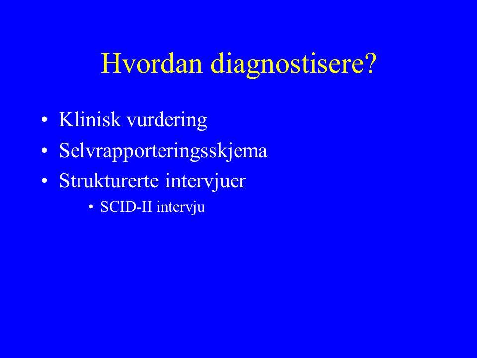 Hvordan diagnostisere.