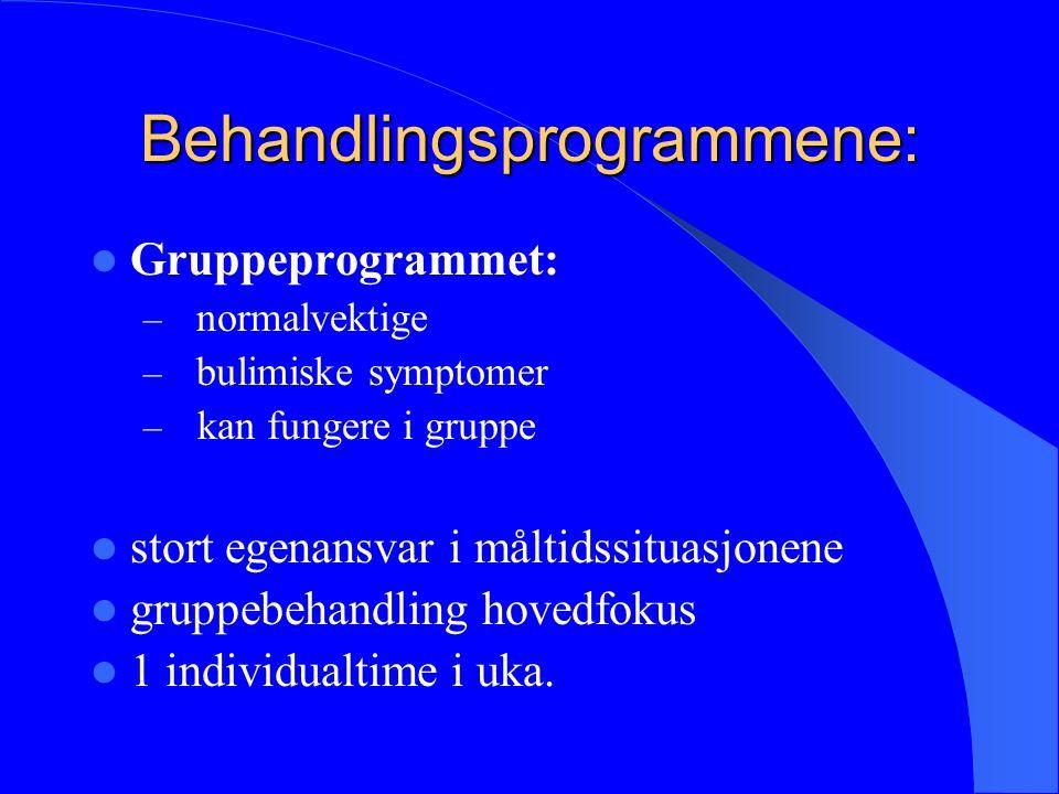 Metode: 86 Pasienter behandlet ved Modum Bad i tidsrommet jan.