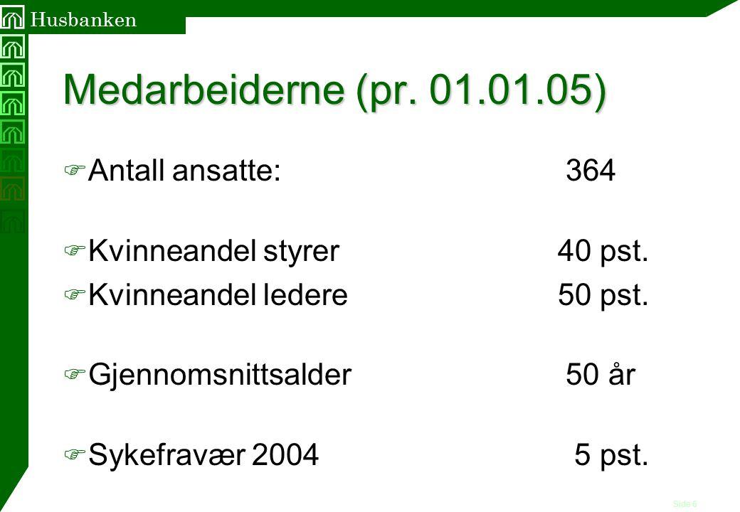 Side 7 Husbanken Låneforvaltningen - 2004 F Totale utlån pr.