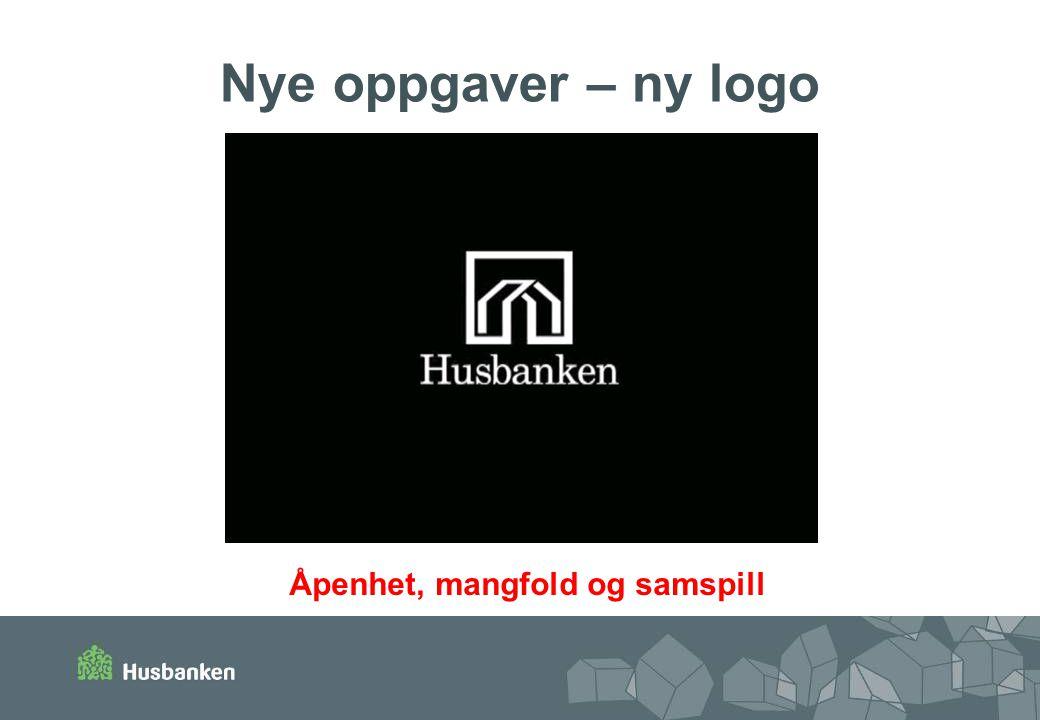 Nye oppgaver – ny logo Åpenhet, mangfold og samspill