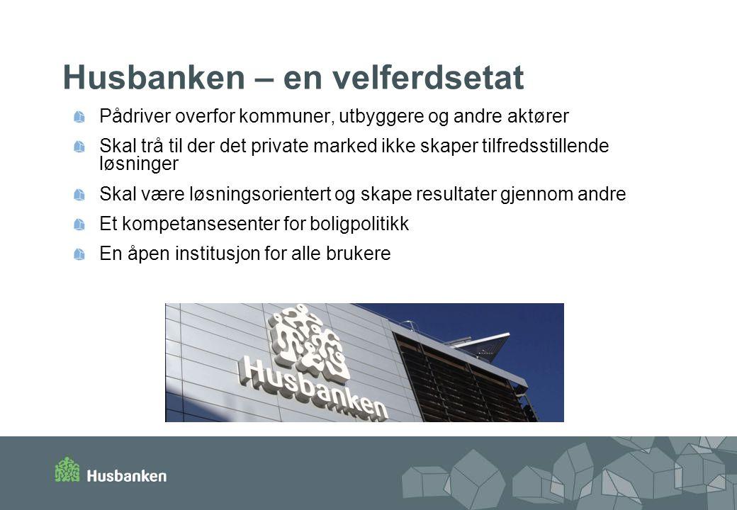 Og sterk satsing på bibliotektjenester Husbanken etablerte høsten 2005 et eget fagbibliotek.