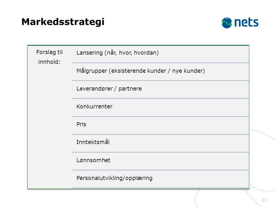 Markedsstrategi 11