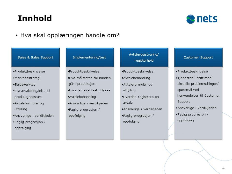 25 Produktopplæring avtaleregistrering/registerhold