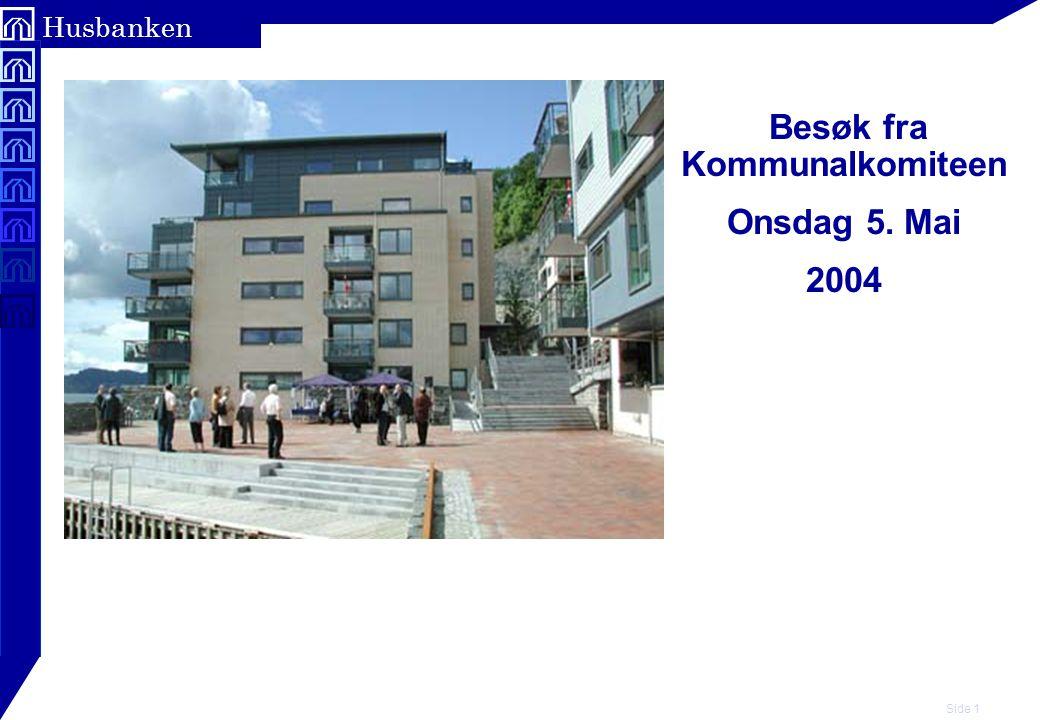 Side 22 Husbanken Et eksempel: Bostøtte for en minstepensjonist i storby (ikke Oslo).