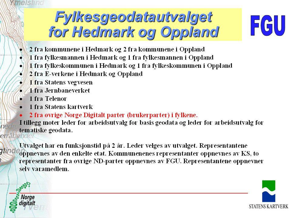Fylkesgeodatautvalget for Hedmark og Oppland