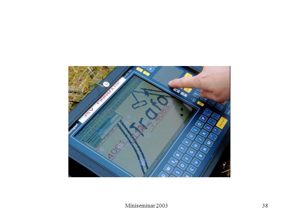 Miniseminar 200338