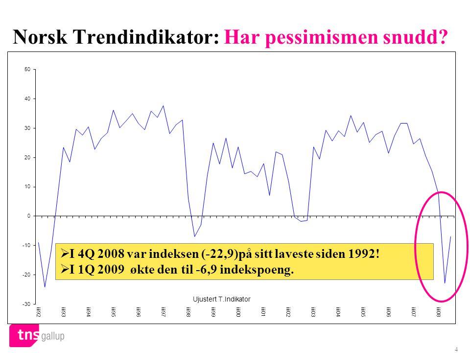 4 Norsk Trendindikator: Har pessimismen snudd.