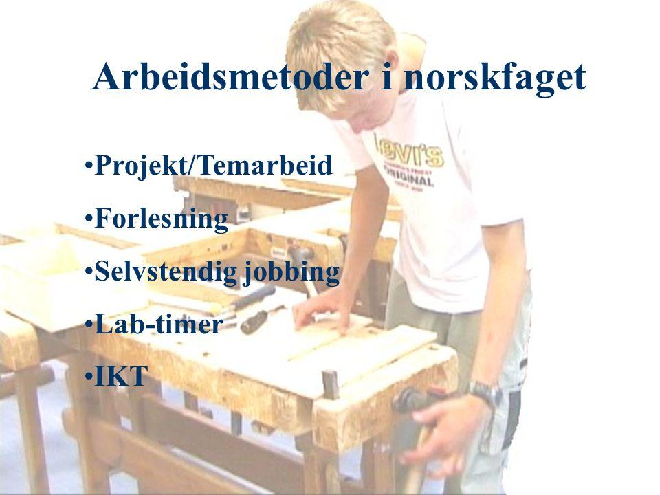 IKT i norskundervisningen Notatteknikk, generell skriving.