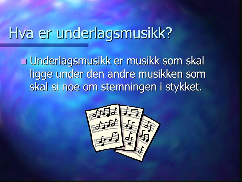 En multimedia presentasjon For Helle Dagsberg F2B I musikk i forbindelse med operaprosjektet.