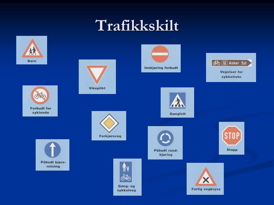 Trafikkskilt