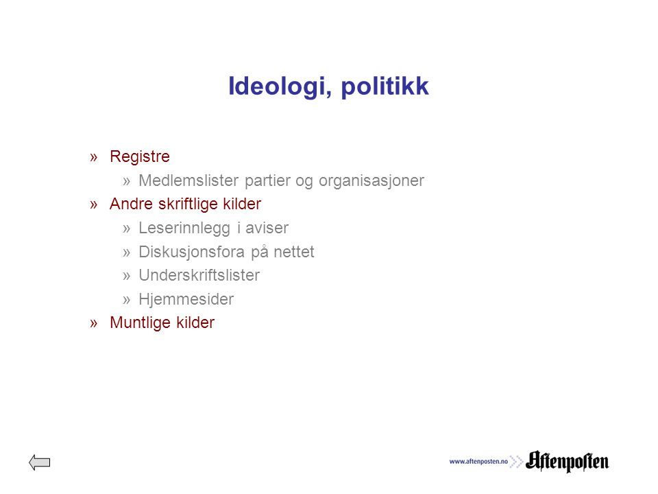 Helseinformasjon »Registre ».