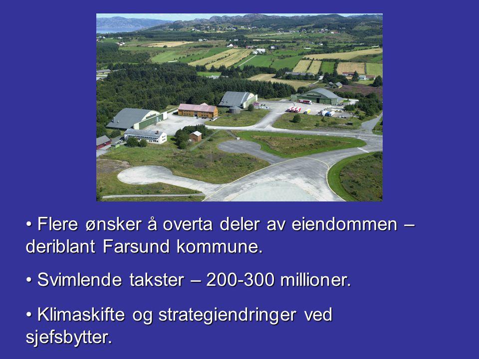 Flere ønsker å overta deler av eiendommen – deriblant Farsund kommune. Flere ønsker å overta deler av eiendommen – deriblant Farsund kommune. Svimlend