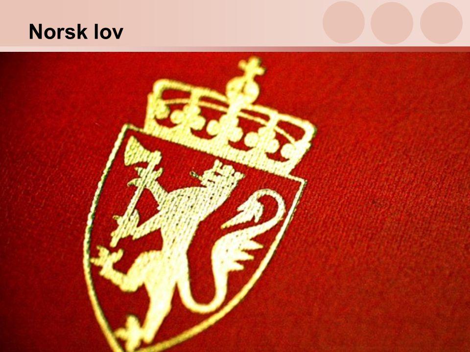 13 Norsk lov