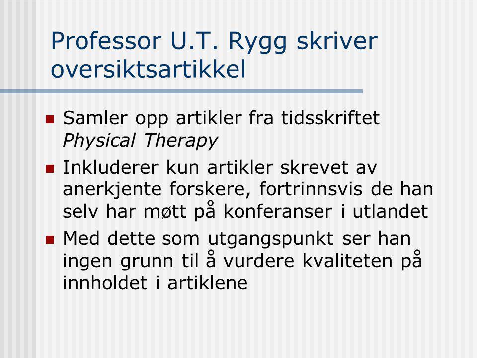 Professor U.T.