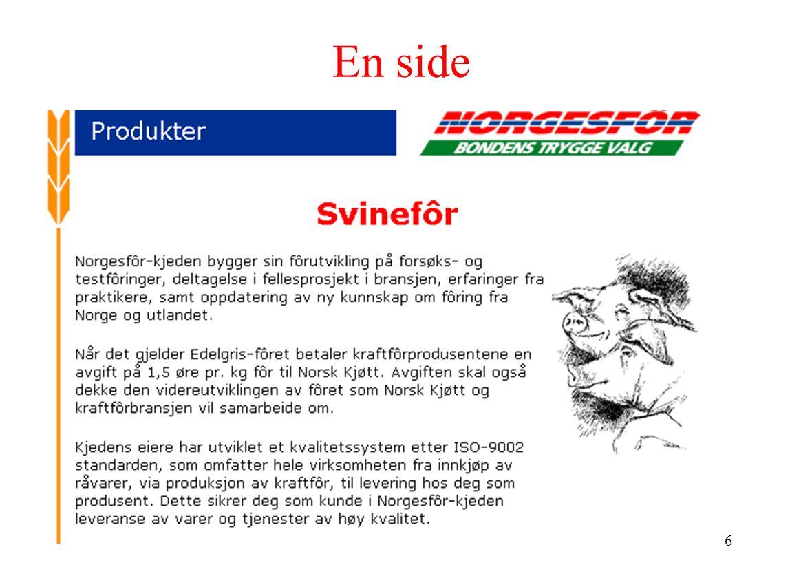 17 ISBD (International Standard Bibliographic Description ) 801 Sa Samtale med et svin : en antologi om litteraturkritikk / red.
