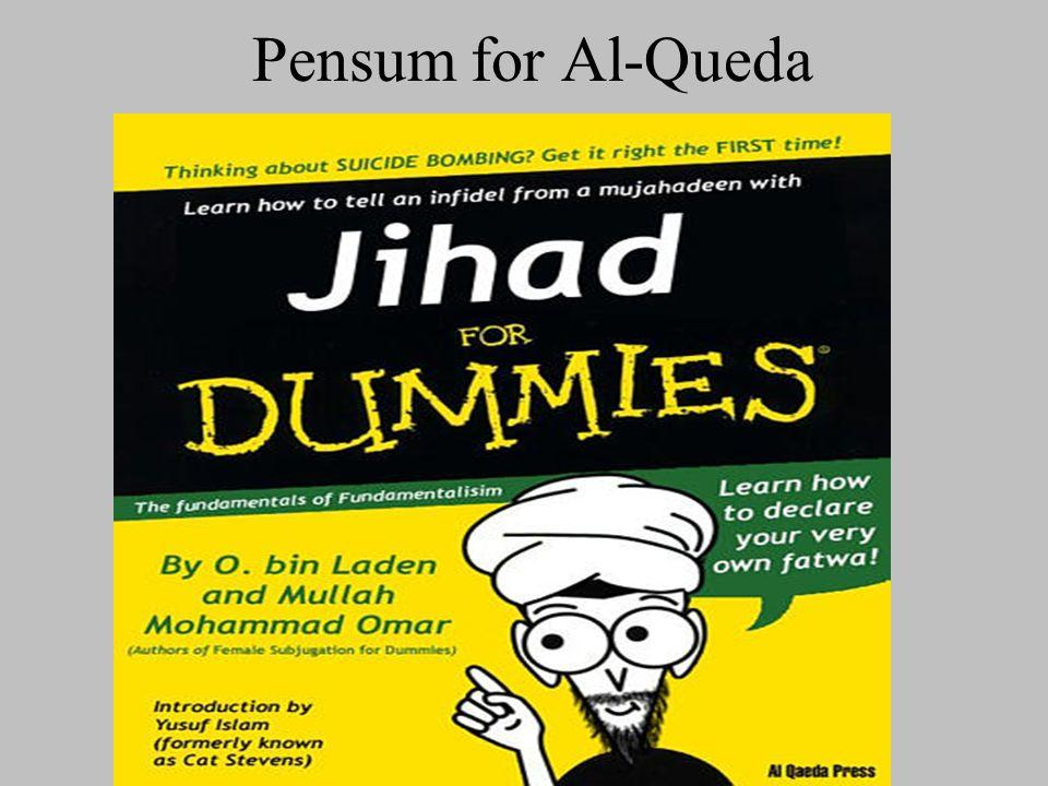Pensum for Al-Queda