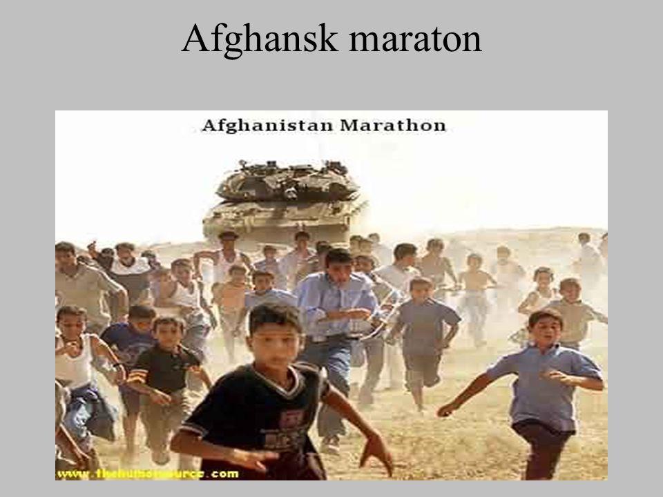 Afghansk maraton