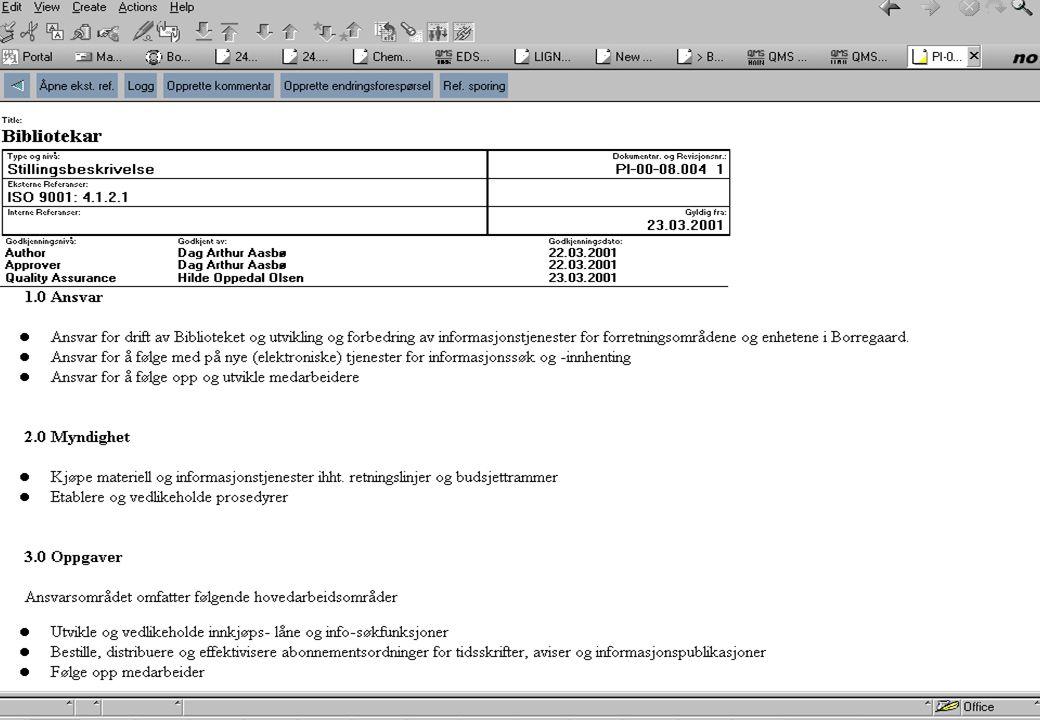 Presentation - page 25 Kostsenter Biblioteket er eget kostsenter (dvs.