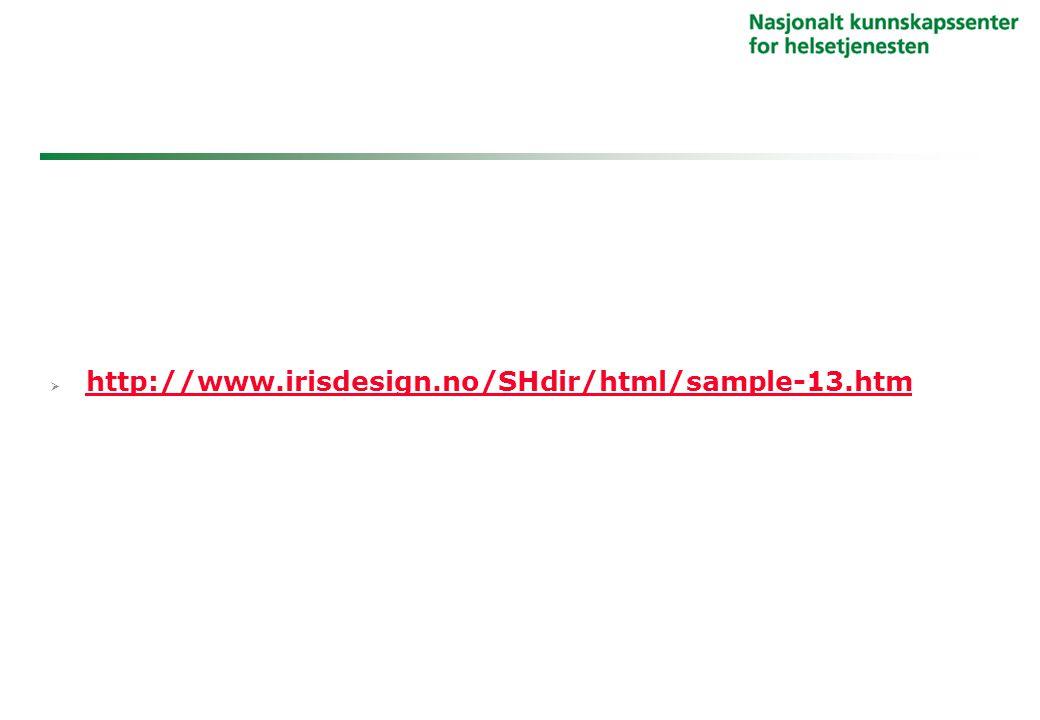 http://www.irisdesign.no/SHdir/html/sample-13.htm http://www.irisdesign.no/SHdir/html/sample-13.htm