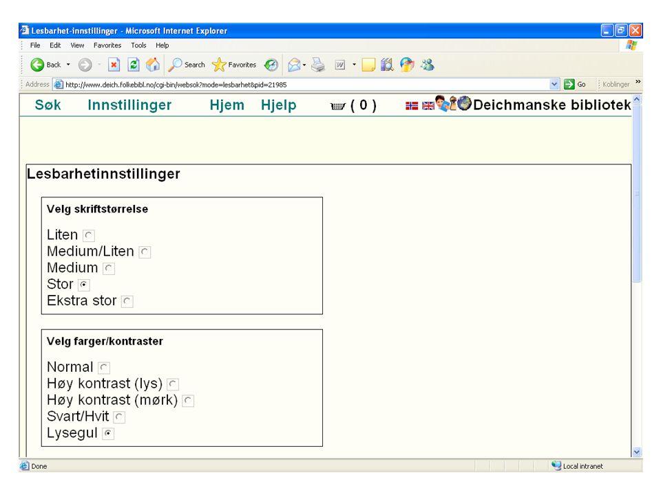 Grafikk, symboler m.v.Bruk standard løsninger Symboler må forstås intuitivt Grafikk (eks.