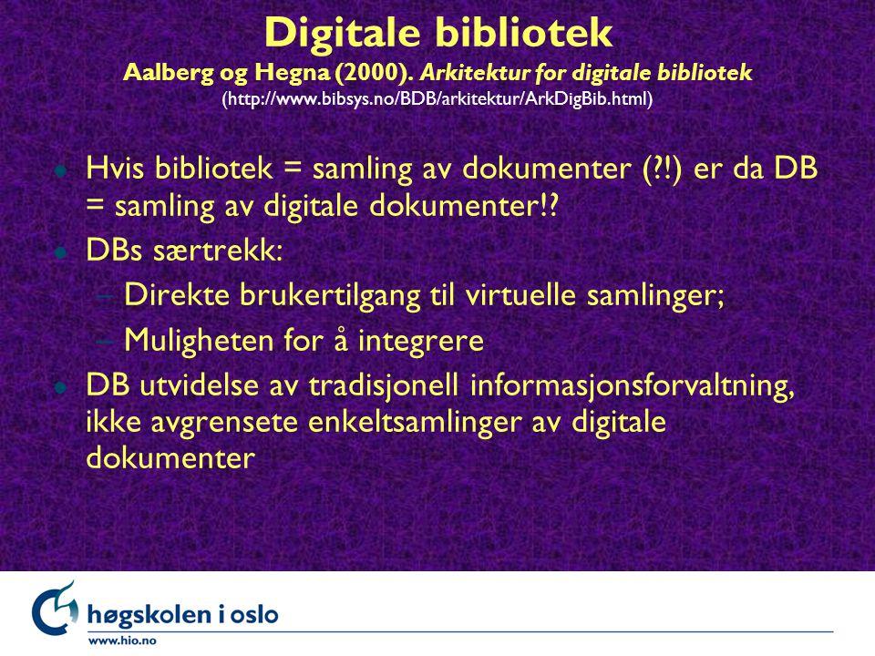 Digitale bibliotek Aalberg og Hegna (2000).