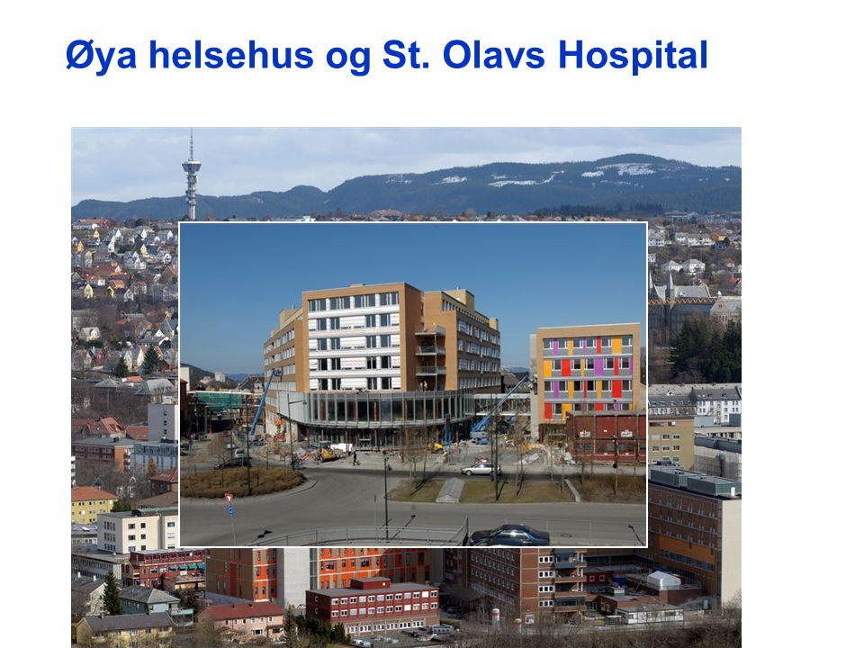 Øya helsehus og St. Olavs Hospital