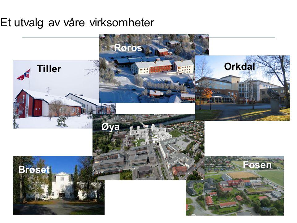 St.Olavs Hospital - Noen nøkkeltall Driftskostnader:5,9 mrd.