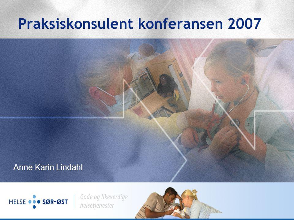 Fra 01.06.07: Helse Sør-Øst RHF 2,6 mill mennesker