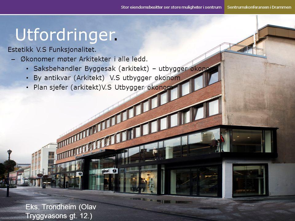 Eks.Olav Tryggvasons gt. 12. 2003 – 2009. Huset brandt ned feb.