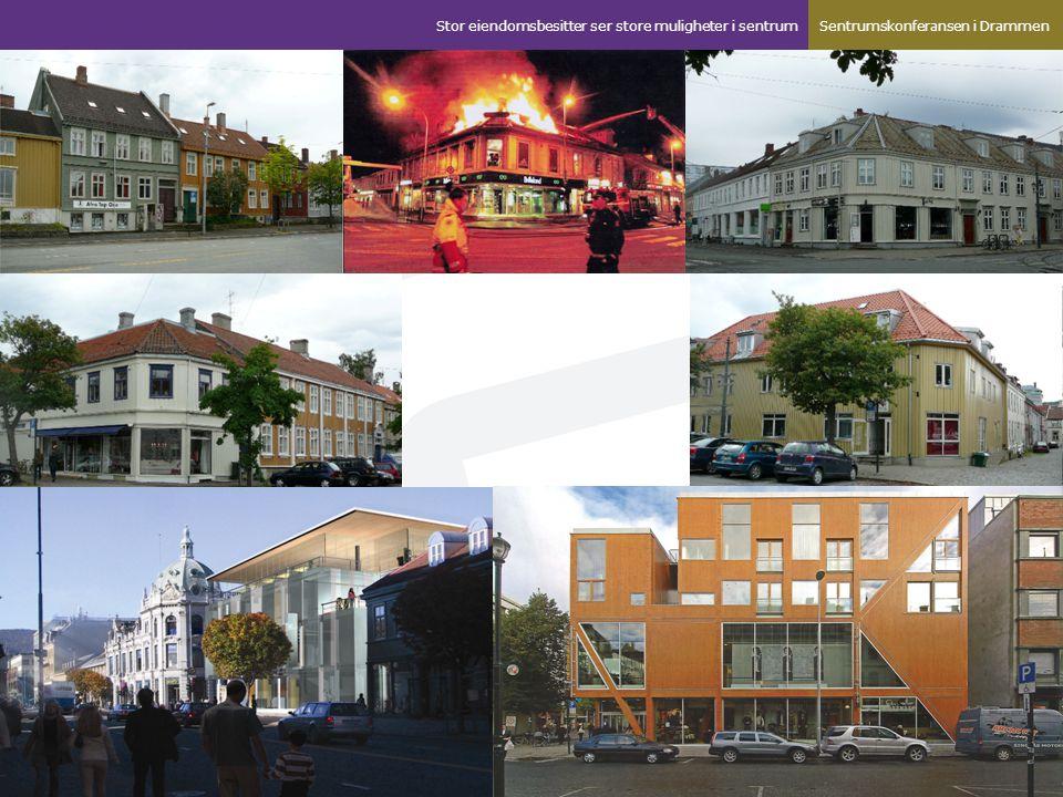 Suksess kriterier sett fra vårt perspektiv Vi ser konturer av en fremtidig sentrumsmodell.