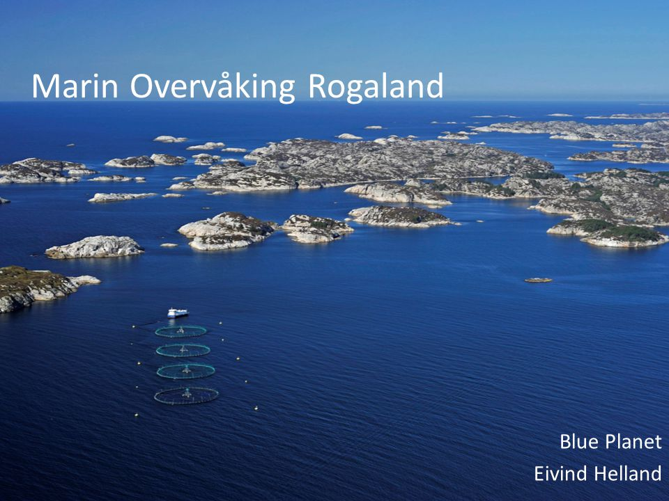 Marin Overvåking Rogaland Blue Planet Eivind Helland