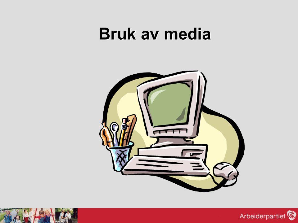 Bruk av media