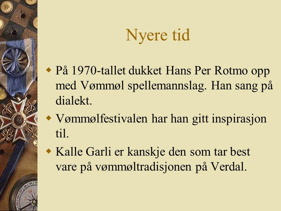 """….videre sa Geir Egil  I mellomkrigstida og de første tiårene etter krigen var et strykeorkester aktivt. """"Verdalssongen"""" vart laga i denne perioden """