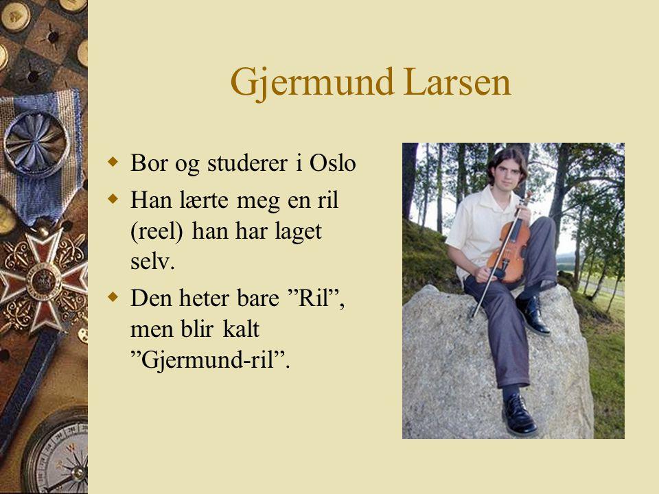"""Tusen takk!!!!  I dag er Asgeir Skrove en som er blitt en kjent teaterkomponist  Bandet """"Turbo Neger"""" har også et medlem som er fra Verdalen.  Elle"""