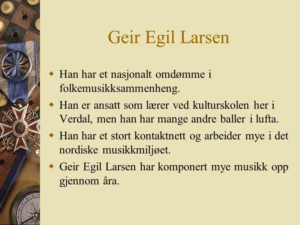 Før første intervju  Jeg forberedte meg med å lage noen spørsmål som jeg sendte til G. E. Larsen på e-post.