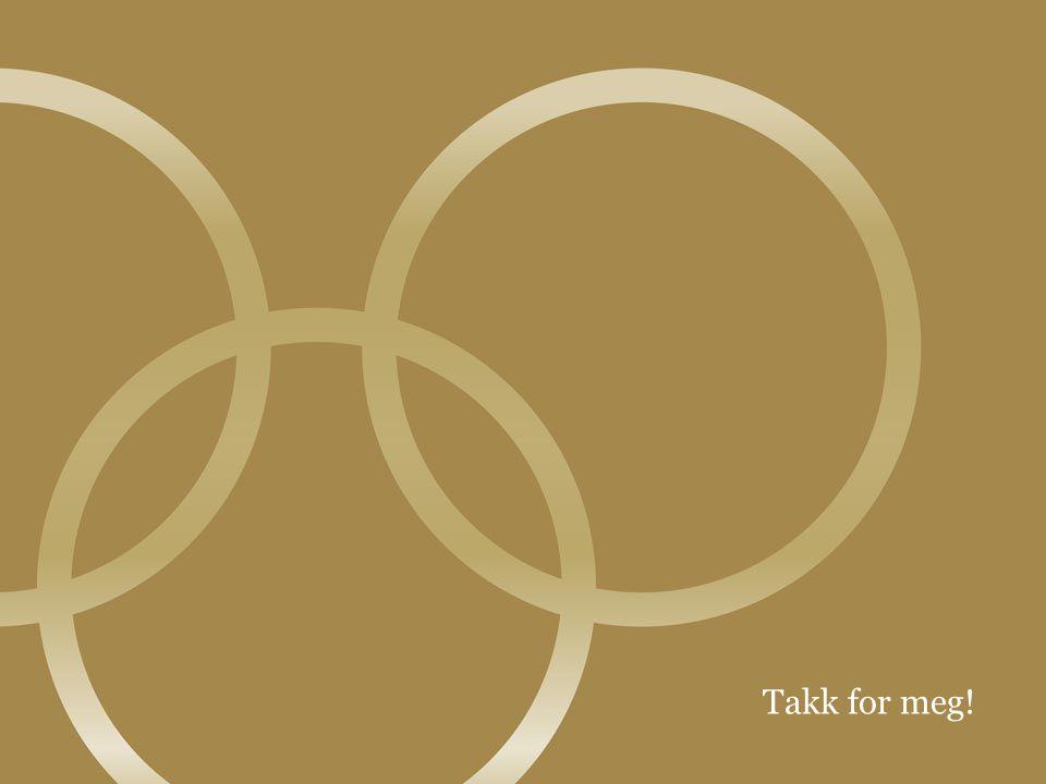 © Olympiatoppen8 Takk for meg!