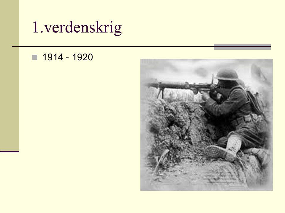 Vi skal lære om: Hvorfor den 1.verdenskrigen brøt ut Hvordan krigen utviklet seg Hvordan det var å være soldat under den første verdenskrigen Hvordan livet var for dem som ikke var soldater Hvordan freden skapte hat og bitterhet i Tyskland