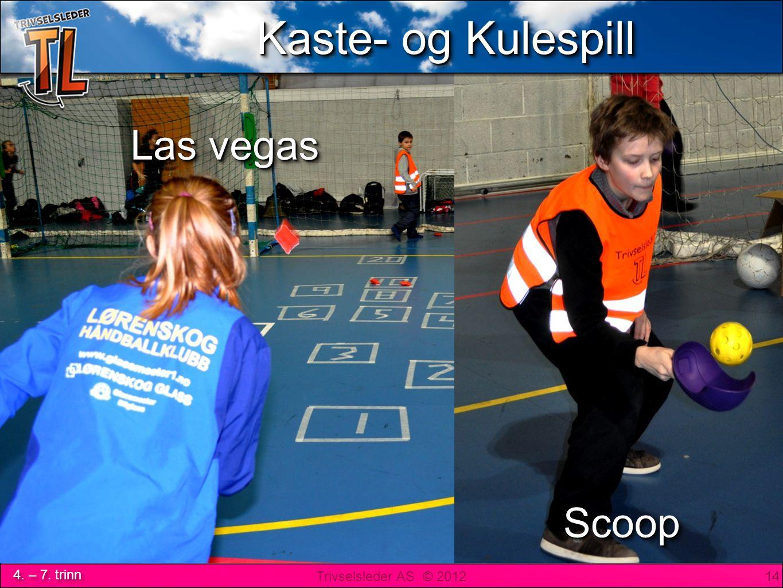 Trivselsleder AS © 2012 4. – 7. trinn Las Vegas, Scoop 14 Las vegas ScoopScoop Kaste- og Kulespill