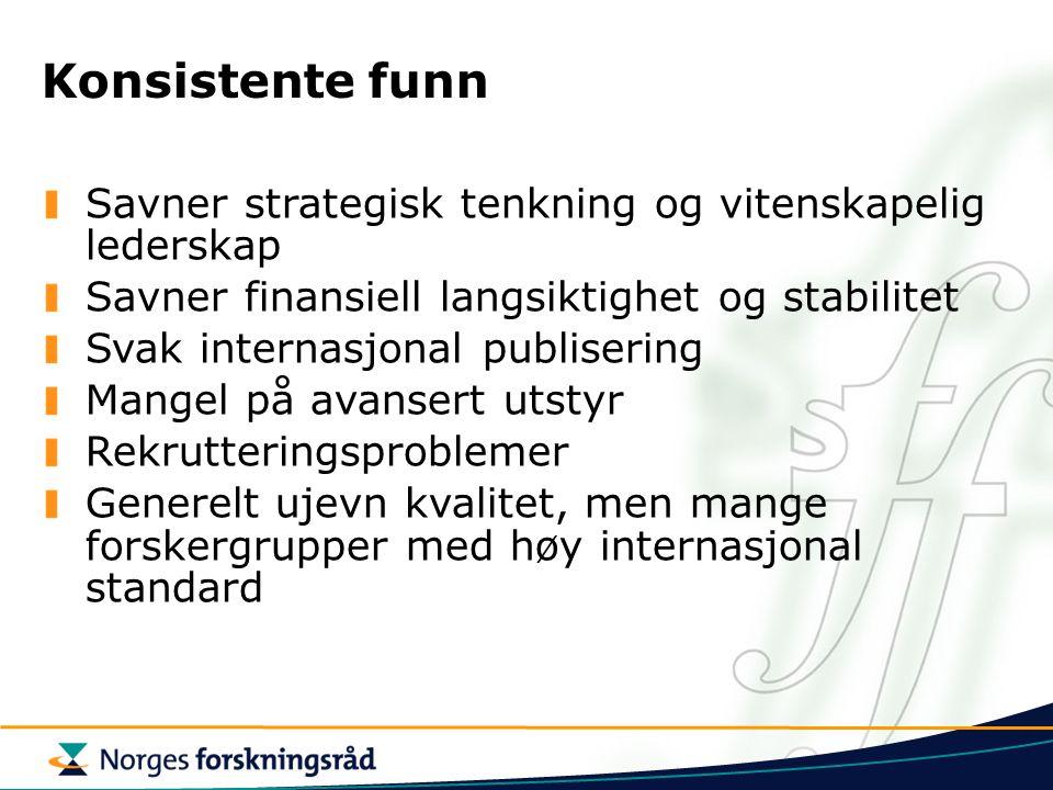 Tentativ prosess frem til implementering av SFI Høst 2006: Oppstart av sentrene Høst 2006:Kontraktsforhandlinger med vertsinstitusjoner Vår 2006: Beslutning om tildeling av SFI-sentre 1.