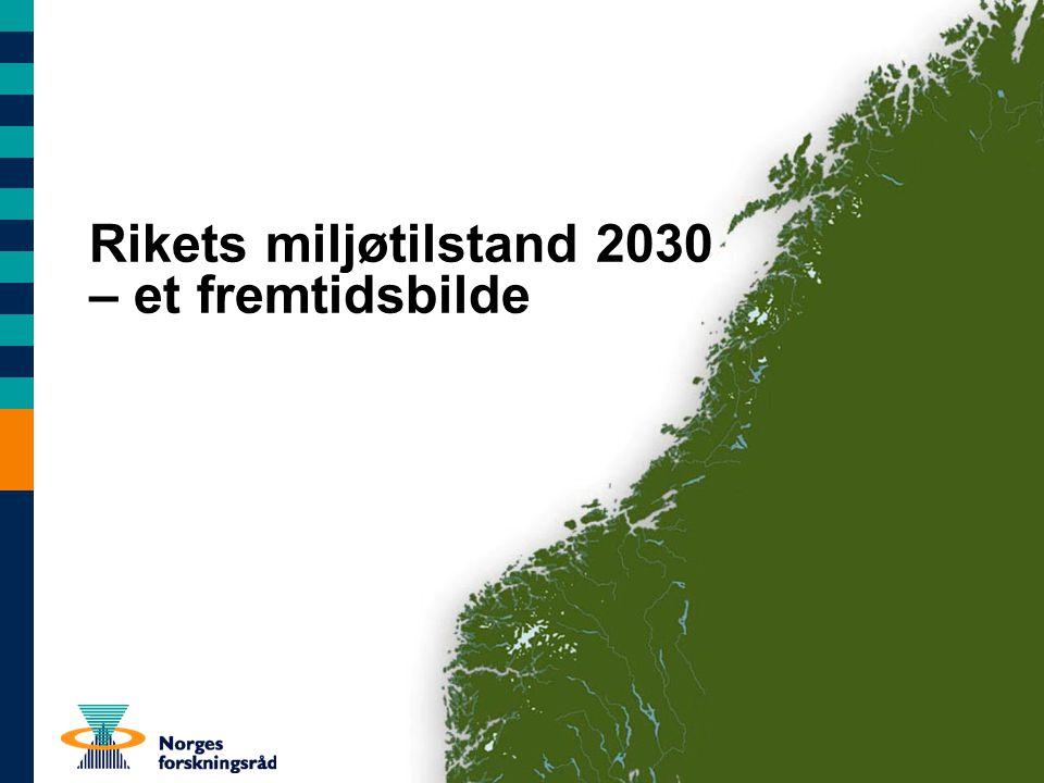 Det globale trykket Miljøpåvirkning fra andre land påvirker økosystemene og folks helse Indirekte virkninger av internasjonale beslutninger Klimagassutslipp over hele kloden påvirker klimaet – også i Norge