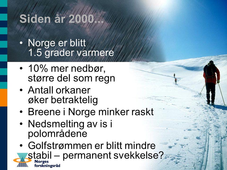Endringer i biologisk mangfold Kongekrabben har nådd Stadlandet Amerikansk hummer har erstattet europeisk hummer i Oslofjorden...