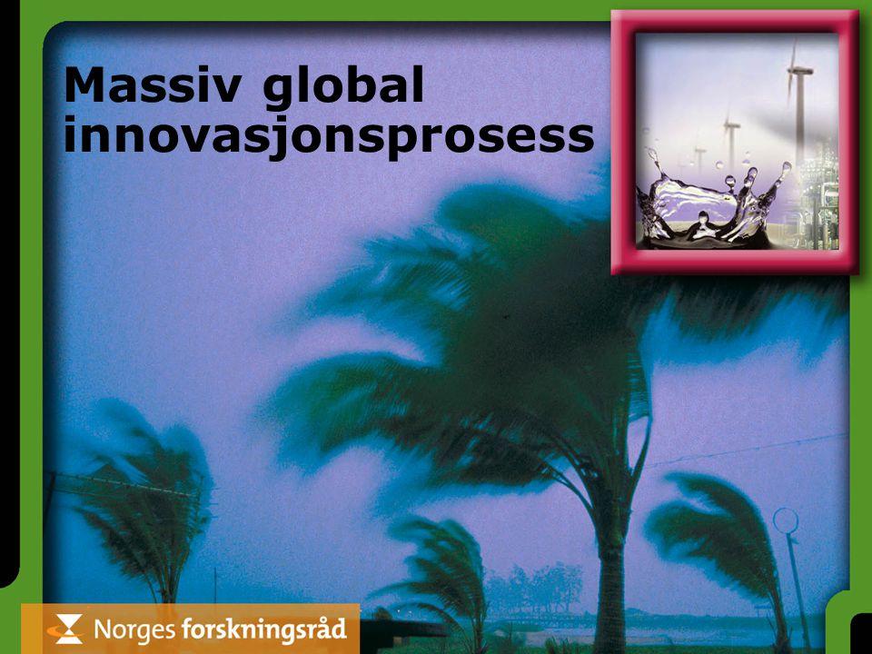 Massiv global innovasjonsprosess