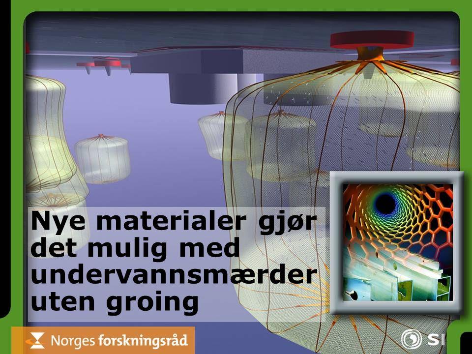 Nye materialer gjør det mulig med undervannsmærder uten groing