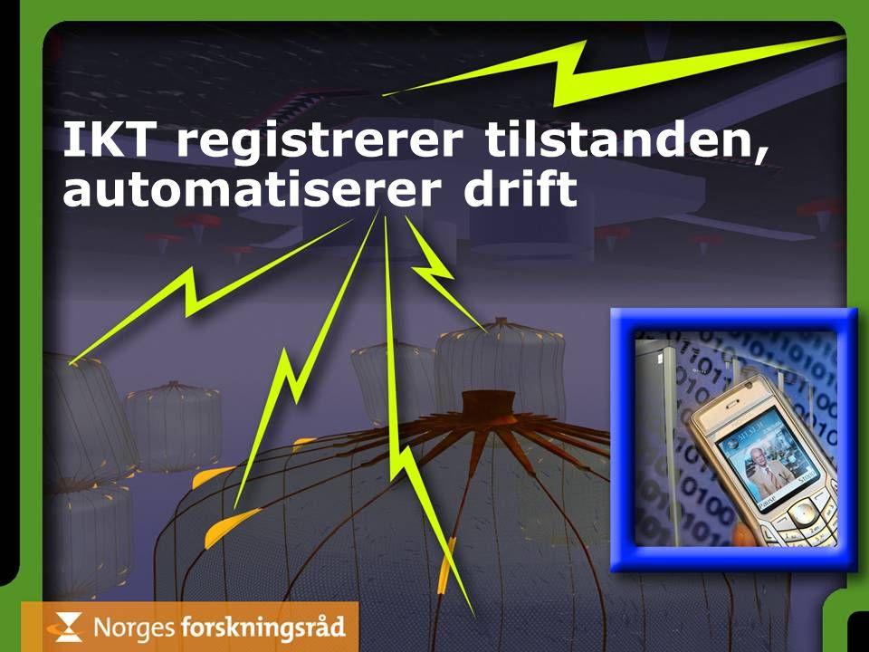 IKT registrerer tilstanden, automatiserer drift