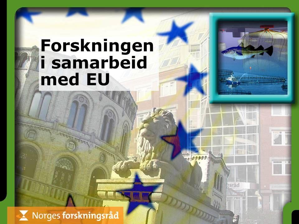 Forskningen i samarbeid med EU