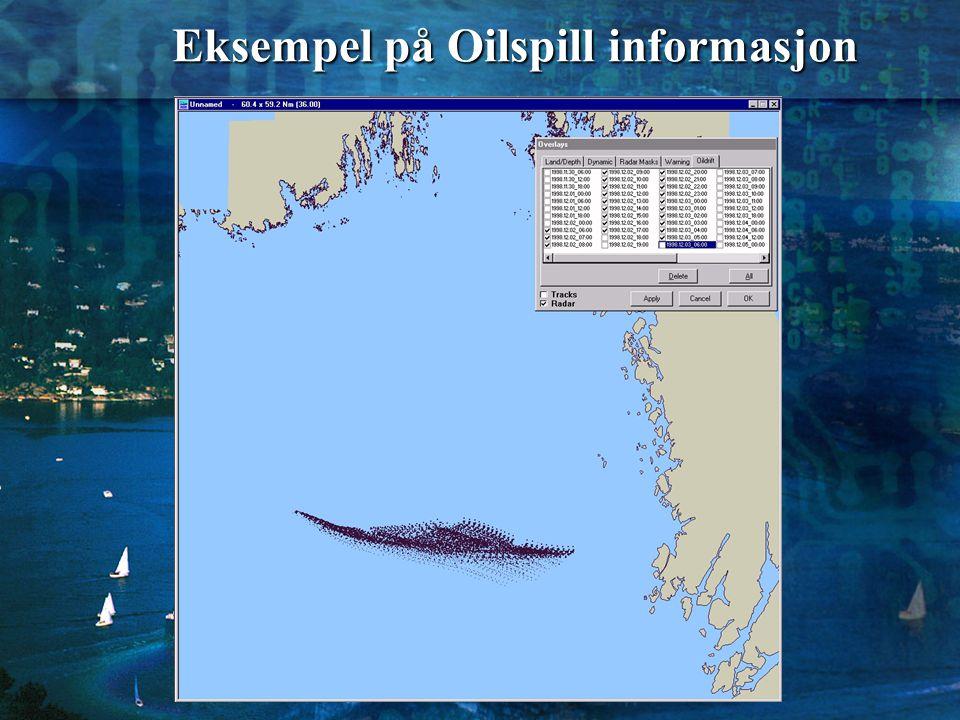 Eksempel på Oilspill informasjon