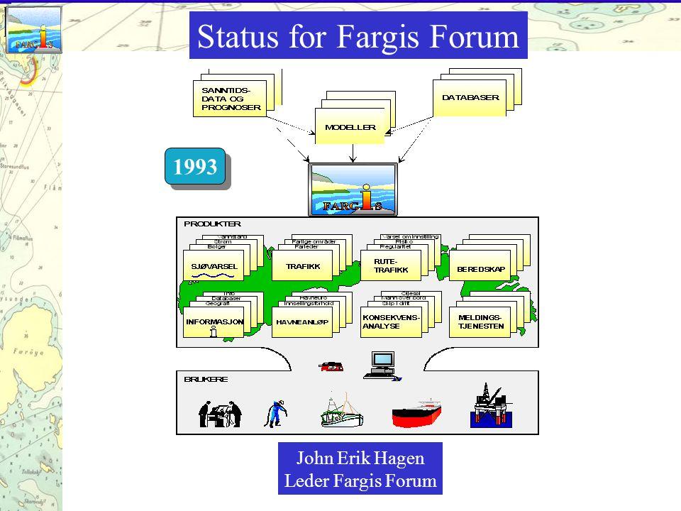 Status for Fargis Forum John Erik Hagen Leder Fargis Forum 1993