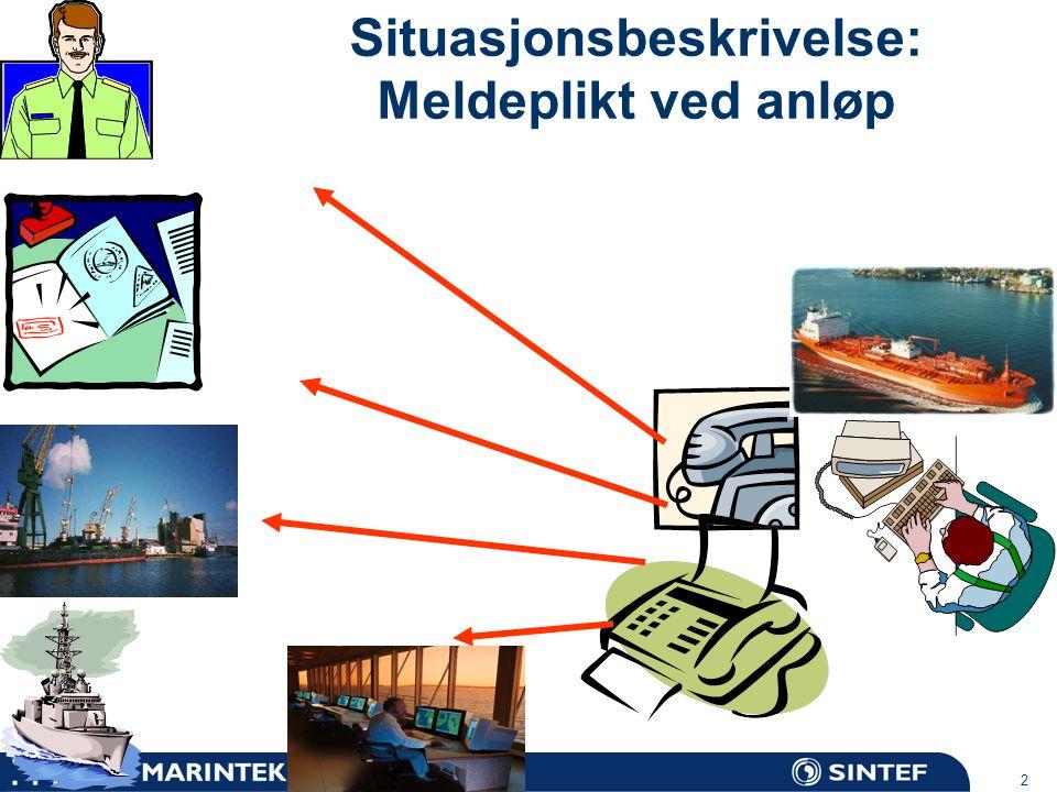 MARINTEK 3 Gjennomførte prosjekter FARGIS: POSEIDONDatautveksling/delingEU 4 RP ShipRepDatautveksling/delingKystverket EU-HAZMATImplementeringMOU Trondheimsscenariet